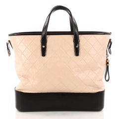 Chanel Gabrielle Shopping Tote Quilted Calfskin Large 3120201