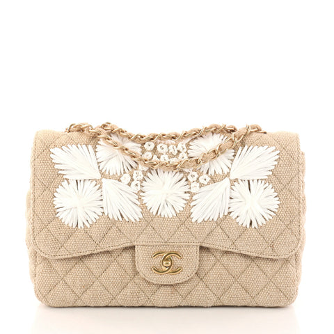 52652442632585 Buy Chanel Country Coco Flap Bag Floral Embroidered Quilted 3124001 – Rebag