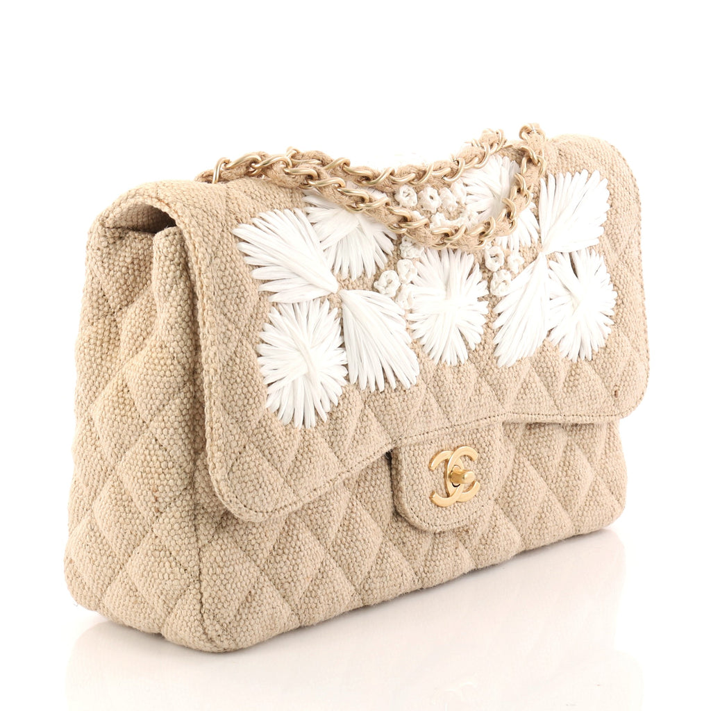 5ab5d418ea5a8e Buy Chanel Country Coco Flap Bag Floral Embroidered Quilted 3124001 ...