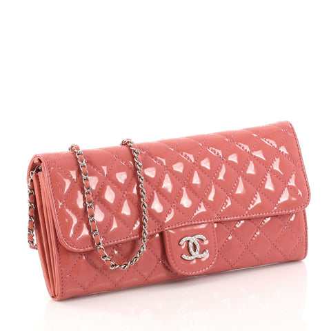 cdedc459ee31 Buy Chanel Wallet On Chain Clutch Quilted Patent East West 3124502 ...