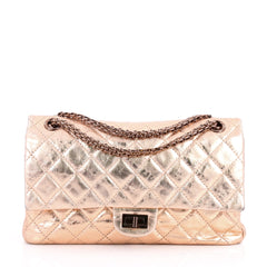 Chanel Reissue 2.55 Handbag Quilted Metallic Aged 3135501