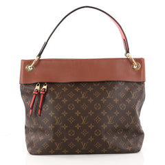 Louis Vuitton Tuileries Hobo Monogram Canvas with Brown 3145701