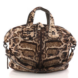 Givenchy Nightingale Satchel Calf Hair Medium Brown 3149204