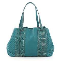 Bottega Veneta A-Shape Tote Intrecciato Nappa with 3149801