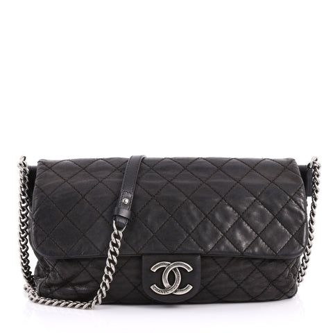 a746a58fda22 Buy Chanel Coco Daily Flap Bag Quilted Iridescent Calfskin 3153701 – Rebag