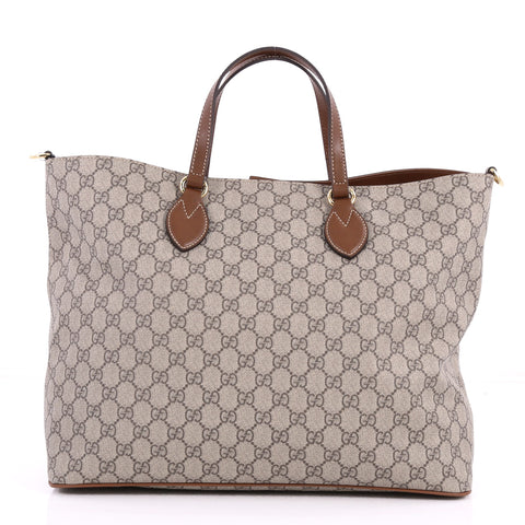 2023799a98fd Buy Gucci Convertible Soft Tote GG Coated Canvas Medium 3169701 – Rebag