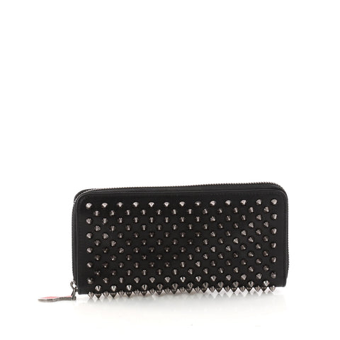 99edc8cfc7 Buy Christian Louboutin Panettone Wallet Spiked Leather 3187306 – Rebag