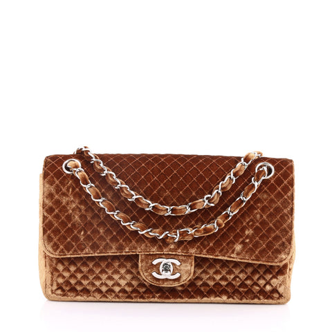 72564d6a51c6 Buy Chanel Vintage Classic Single Flap Bag Micro Quilted 3189901 – Rebag