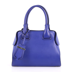Tod's Cape Satchel Leather Mini Blue 3193003