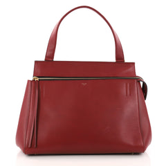 Celine Edge Bag Leather Small Red 3205801