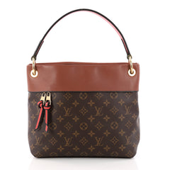 Tuileries Besace Bag Monogram Canvas with Leather
