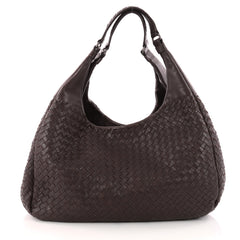 Bottega Veneta Campana Hobo Intrecciato Nappa Large Brown 3210602