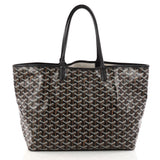 Goyard St. Louis Tote Coated Canvas PM Black 3217701