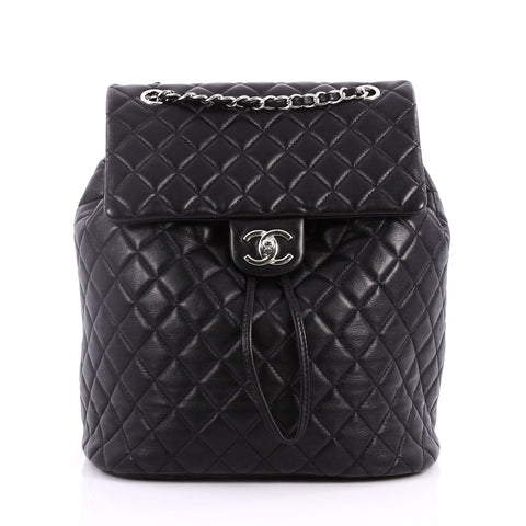 9f4031ebe391 Buy Chanel Urban Spirit Backpack Quilted Lambskin Large 3224202 – Rebag