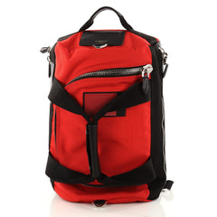 Givenchy Convertible Duffle Backpack Nylon and Leather Red 3227701