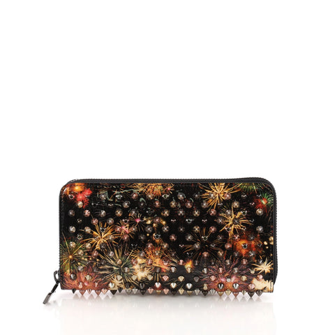 a520c3a8010 Panettone Wallet Spiked Printed Leather
