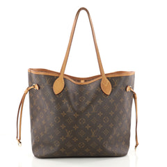 Louis Vuitton Neverfull Tote Monogram Canvas MM Brown 3230301
