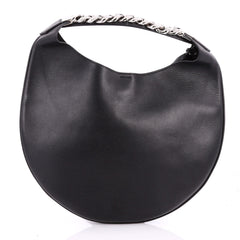 Givenchy Infinity Hobo Leather Small Black 3232301