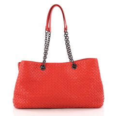 Bottega Veneta Double Chain Tote Intrecciato Nappa Large 3234702