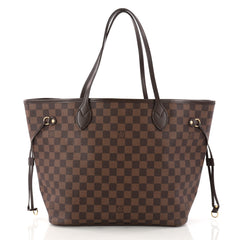 Louis Vuitton Neverfull NM Tote Damier MM Brown 3238403