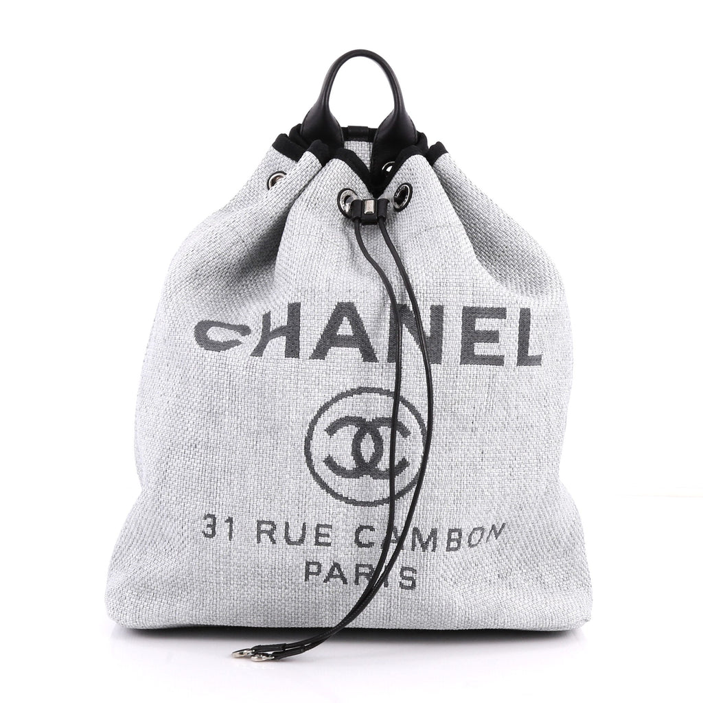 4baf5137348783 Chanel Canvas Deauville Backpack- Fenix Toulouse Handball