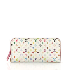 Louis Vuitton Insolite Wallet Monogram Multicolor White 3242801
