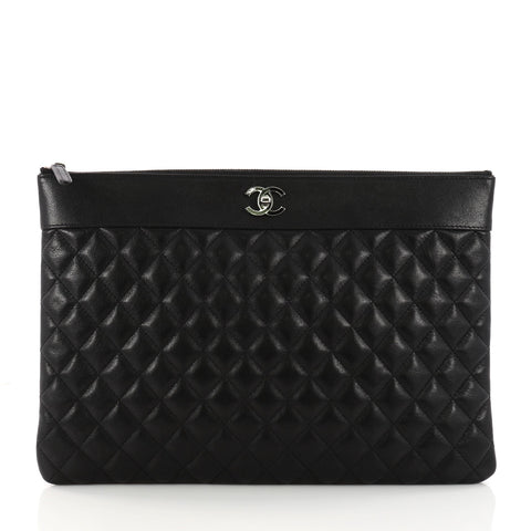 637373e57532 Buy Chanel Mademoiselle Vintage O Case Clutch Quilted 3256001 – Rebag