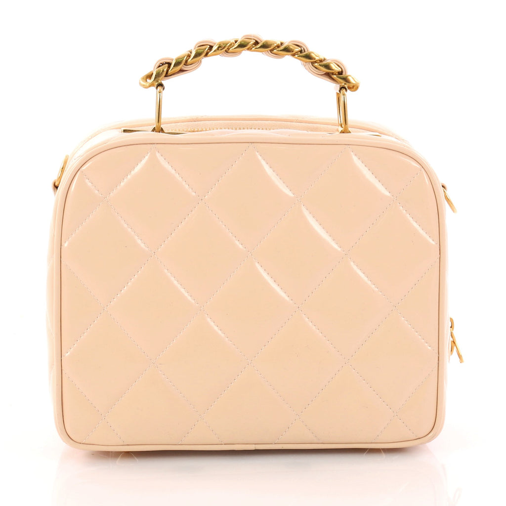 357f24e8f2ec Buy chanel vintage chain lunch box bag quilted patent small jpg 1024x1024 Chanel  lunch bag box