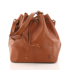 Louis Vuitton Petit Noe Handbag Epi Leather Brown 3258101