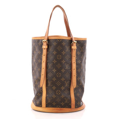Louis Vuitton Bucket Bag Monogram Canvas GM Brown 3259506