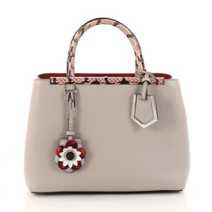 Fendi Flowerland 2Jours Handbag Embellished Leather with 3269702