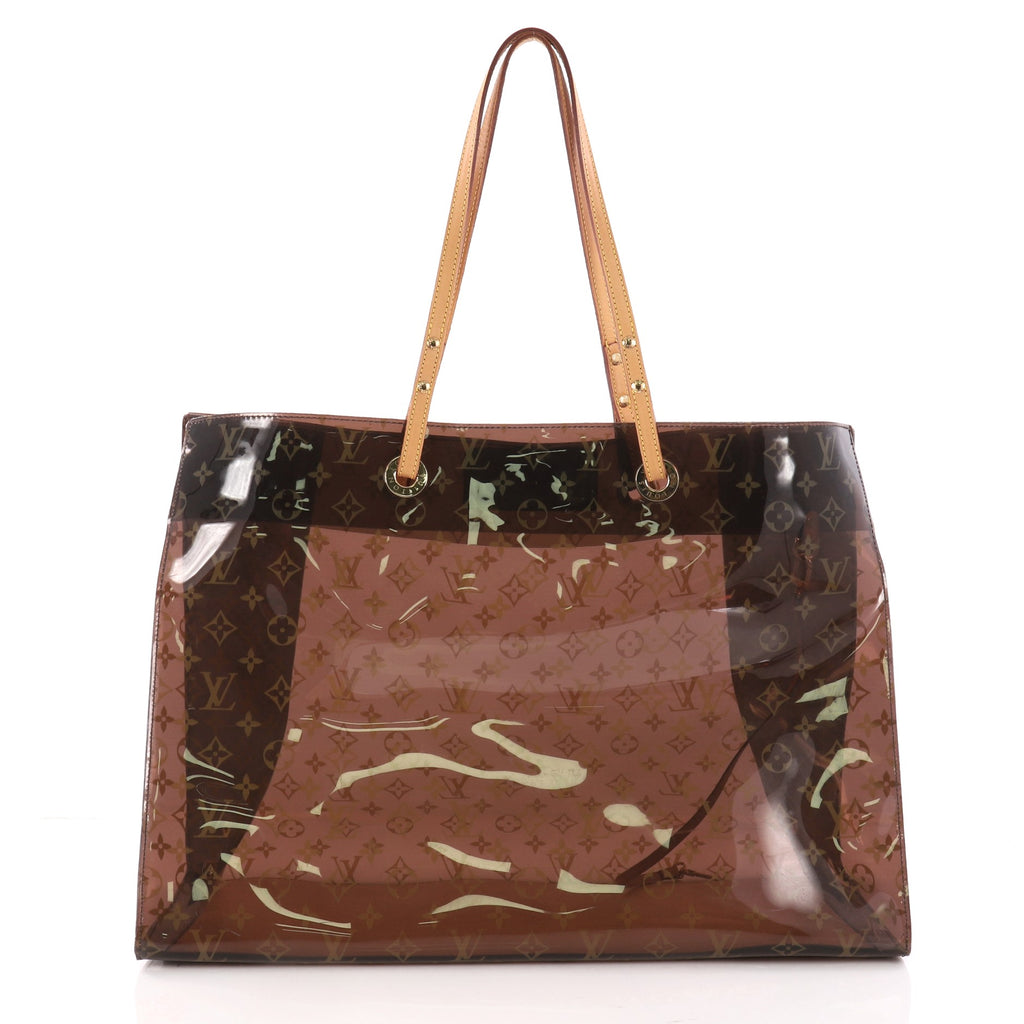 3a7d71ef446e Buy Louis Vuitton Ambre Sac Cabas Monogram Vinyl GM Brown 3270803 ...