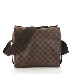 Louis Vuitton Naviglio Handbag Damier Brown 3272102