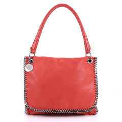 Stella McCartney Falabella Top Handle Flap Bag Shaggy Red 3274902