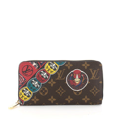 Louis Vuitton Zippy Wallet Limited Edition Kabuki 3280405