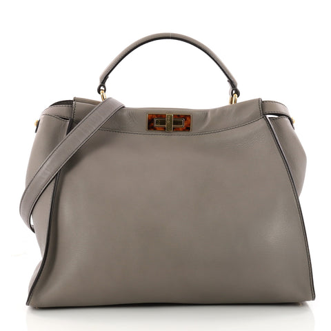 80103dd509 Buy Fendi Peekaboo Handbag Leather with Tortoise Detail 3282502 – Rebag