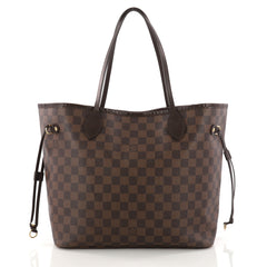 Louis Vuitton Neverfull Tote Damier MM Brown 3282903