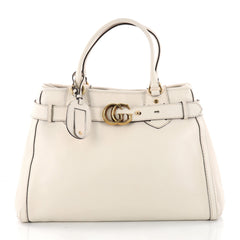 Gucci GG Running Tote Leather Large Neutral 3285701