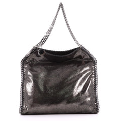 Stella McCartney Falabella Tote Shaggy Deer Small Black 3286910