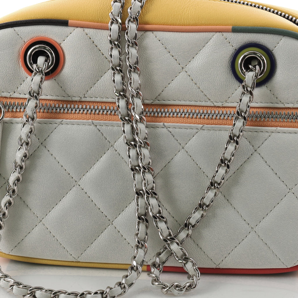 b7266c9ec9ea Buy Chanel Cuba Camera Bag Quilted Lambskin Small White 3292801 – Rebag