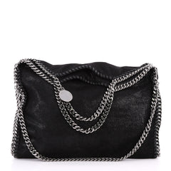 Stella McCartney Falabella Fold Over Bag Shaggy Deer 3300504