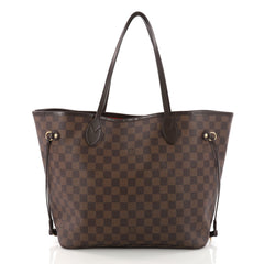 Louis Vuitton Neverfull Tote Damier MM Brown 3303002