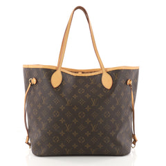 Louis Vuitton Neverfull Tote Monogram Canvas MM Brown 3303201