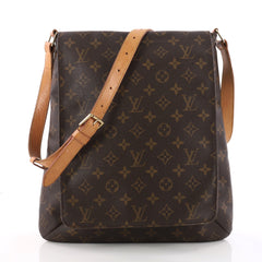 Musette Salsa Handbag Monogram Canvas GM