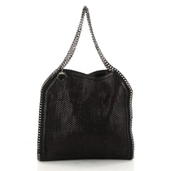 Falabella Tote Woven Faux Leather Small