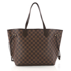Louis Vuitton Neverfull Tote Damier MM Brown 3307802