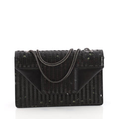 Saint Laurent Betty Bag Sequins Small Black 3313005
