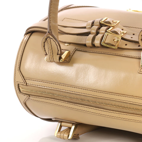 edf984b8f6b4 Buy Burberry Bridle Chester Convertible Bowler Bag Leather 3318215 ...