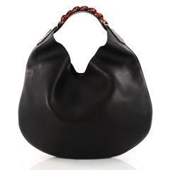 Givenchy Infinity Hobo Leather Small Black 3320504