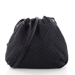 Bottega Veneta Drawstring Shoulder Bag Quilted Leather 3325302